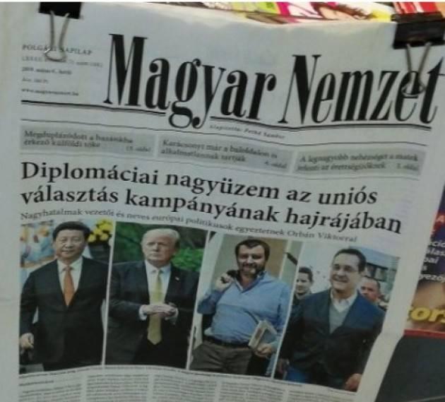L'EUROPA CHE STIAMO PERDENDO. Il caso dell'Ungheria  Agostino Spataro