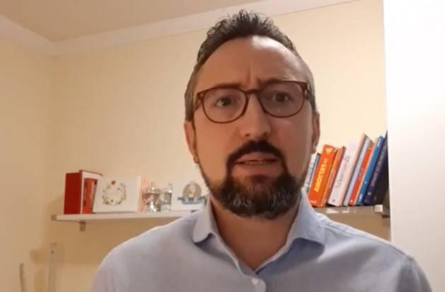 Matteo Piloni (PD) LA SESTA SETTIMANA DEL CORONAVIRUS ,MENO POLEMICHE E PIU' TAMPONI (Video)