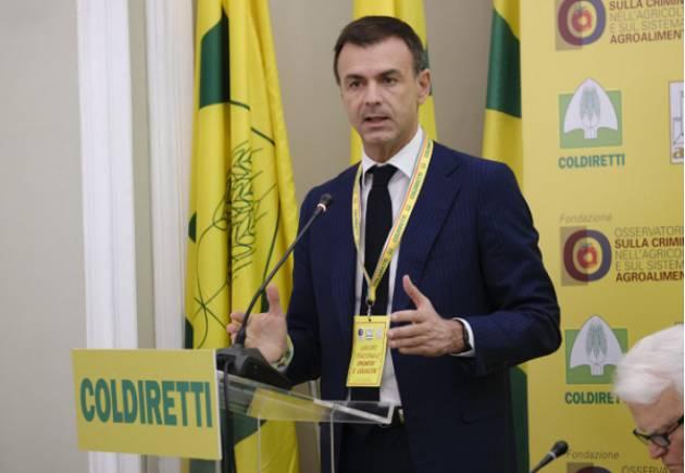 """Coronavirus, Coldiretti: """"Serve un Piano Marshall per l'agricoltura italiana"""""""