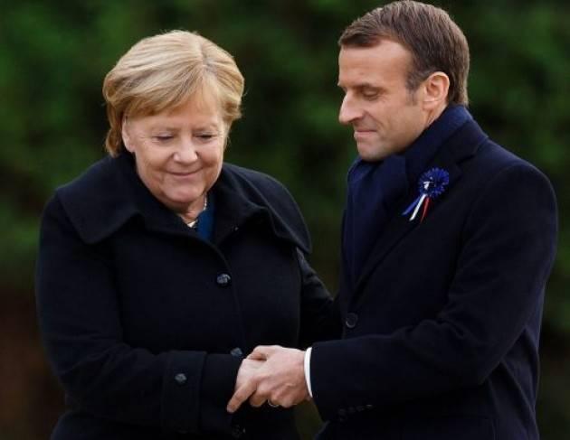 Intesa tra Germania e Francia sul Mes ''light''. Ma l'Italia insiste sui coronabond