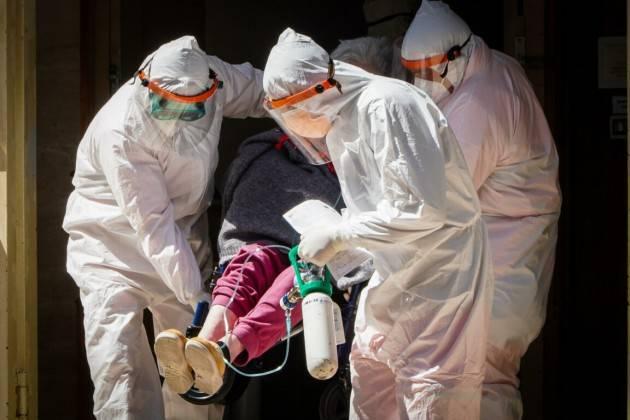 Coronavirus RSA Cremona Mimmo Palmieri (Spi-Cgil)  'Forse  1000 anziani morti. Perché ? Vogliamo saperlo'