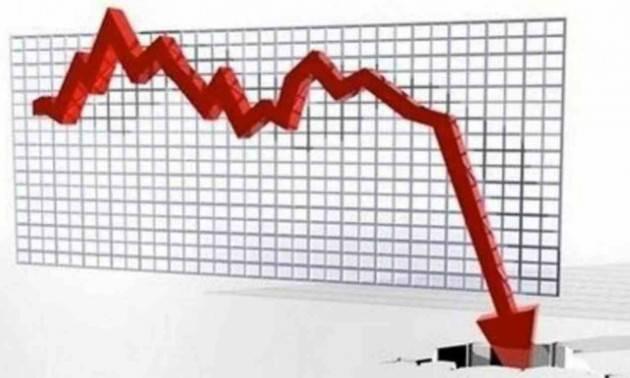 Calo del Pil mai visto, primo semestre -15%