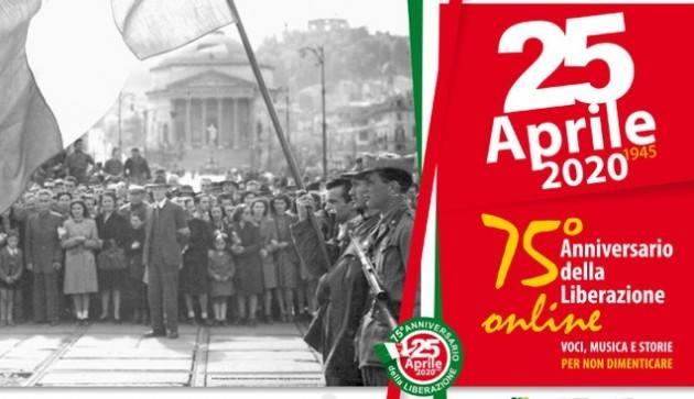 Cremona Celebrazioni del 75° anniversario Liberazione in emergenza corona virus