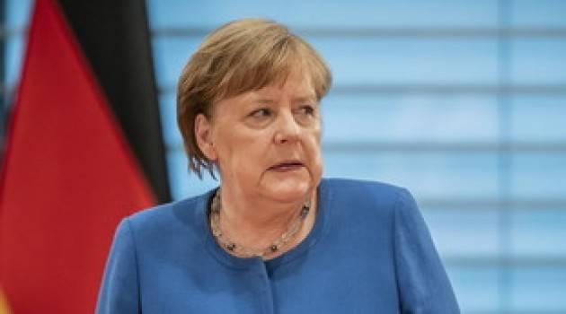 Merkel: ''Pronti a maggiori contributi contro la pandemia''