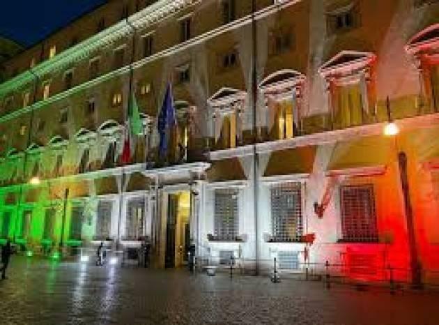 Palazzo Chigi, le stime economiche dopo l'epidemia