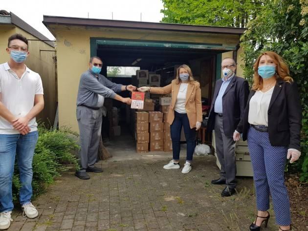 Il Rotary Cremasco San Marco  continua la sua opera per contrastare le difficoltà dovute al Coronavirus con oltre 4000 prodotti offerti a circa 100 famiglie cremasche