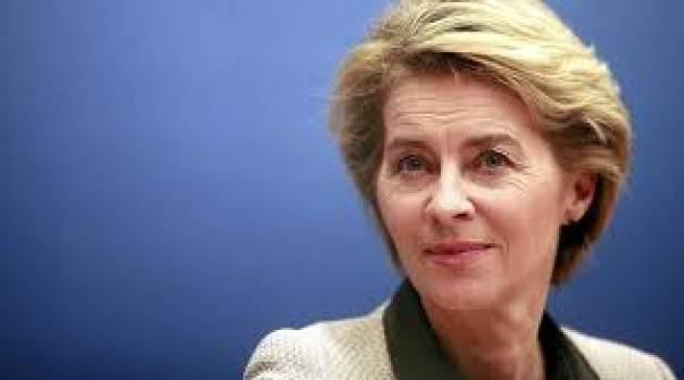 Ursula Von der Leyen: ''La crisi è appena iniziata''