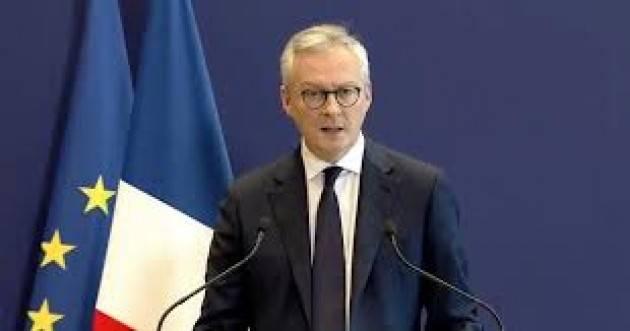 Francia: il ministro Le Maire smentisce tensioni nel Governo