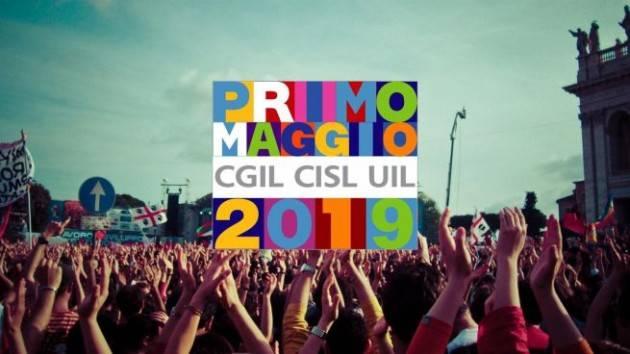 Cgil-Cisl-Uil Primo Maggio 2020 Il lavoro in Sicurezza: per Costruire il Futuro:  il concertone su Rai 3 con Vasco, Zucchero e Gianna Nannini. Il programma