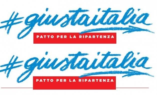 #giustaitalia Patto per la Ripartenza