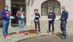 La Comunità Indiana dona  1000 mascherine a Crema ed a altri comuni