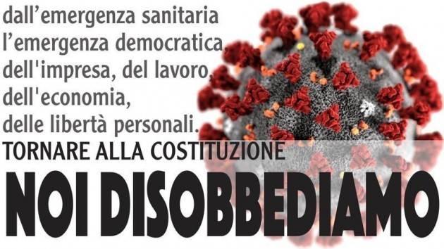 PRESIDENTE MATTARELLA: URGE TORNARE ALLA COSTITUZIONE. NOI DISOBBEDIAMO| Sergio Ravelli (Cremona)