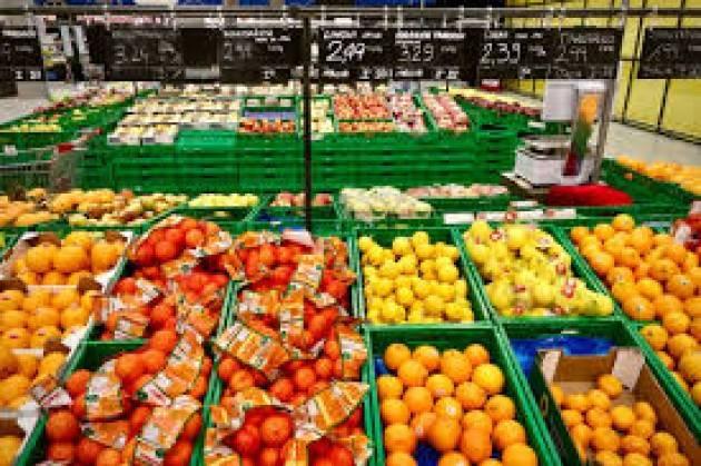 Volano prezzi di ortaggi e frutta
