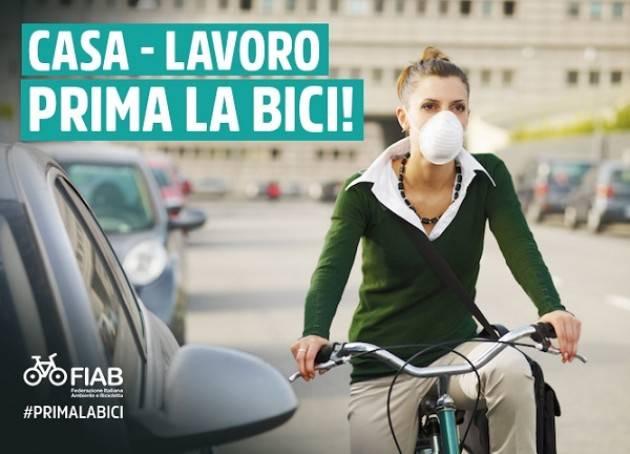 Muoversi in bicicletta dal 4 maggio: dalla FIAB alcuni chiarimenti
