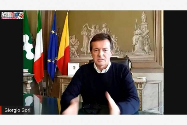 Fase 2, Gori: Bergamo è oggettivamente in difficoltà