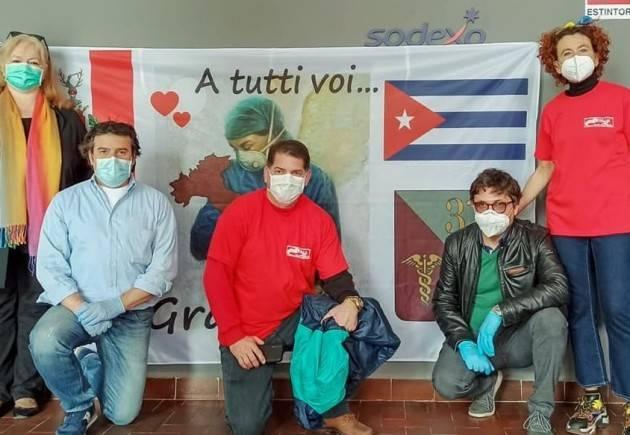 Emergenza Covid-19  La Brigata Cubana ha lasciato il segno  Parte Italia-Cuba  a Crema | Franco Bordo
