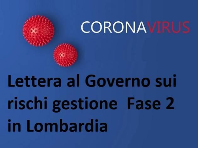 Lettera al Governo sui rischi gestione  Fase 2 in Lombardia firmata da anche da politici cremonesi.