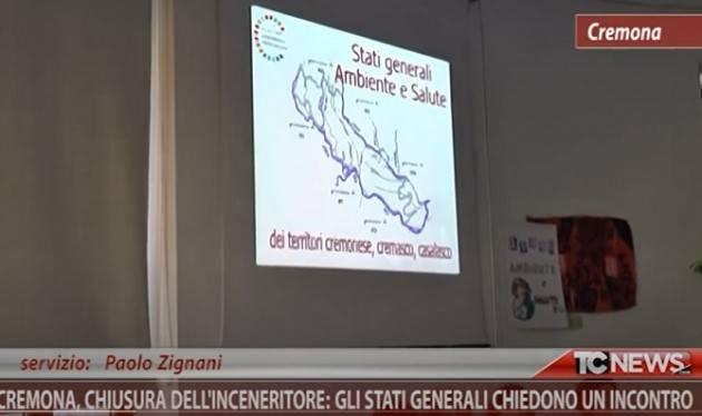 Paolo Zignani Stati Generali Cremona  chiedono incontro a  Gianluca su economia circolare, rifiuti, termovalorizzatore e risparmio energetico (Video)
