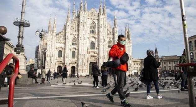 Calano ricoveri e decessi in Lombardia