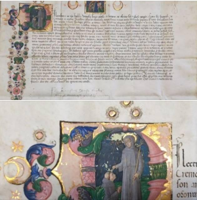 Archivio di Stato La Carità a Cremona nel tardo Medioevo-Documento 2
