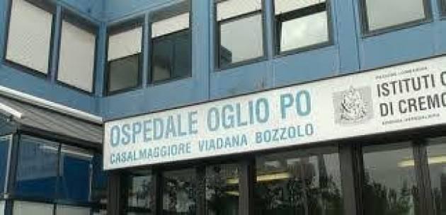 ASST CREMONA - OSPEDALE OGLIO PO:  IL PUNTO PRELIEVI  RIAPRE ANCHE IL SABATO.