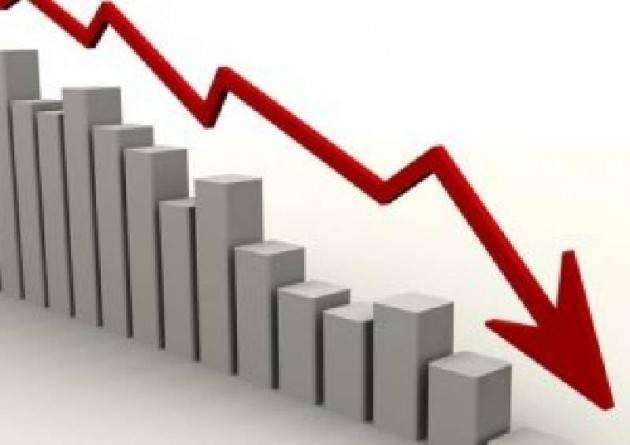 Pil zona euro -3,8%, Borse peggiorano