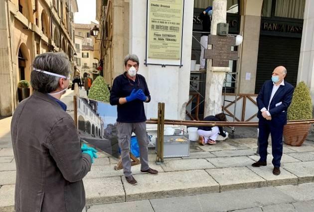Strage di piazza Loggia: realizzati i lavori di conservazione della stele commemorativa