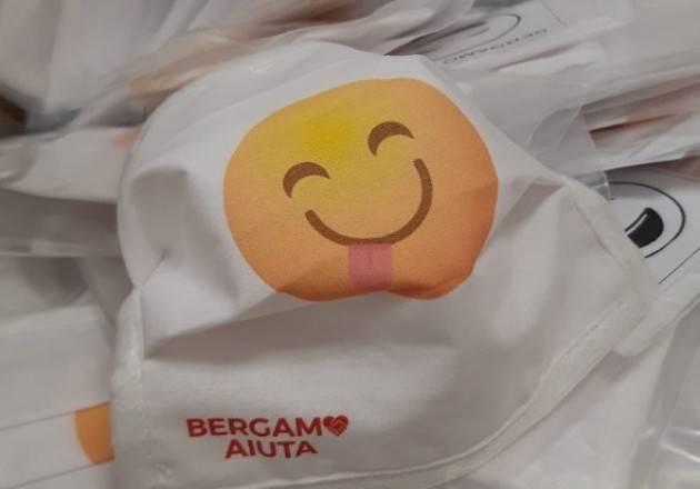 Il Comune di Bergamo consegna mascherine a domicilio a tutti i bambini della città