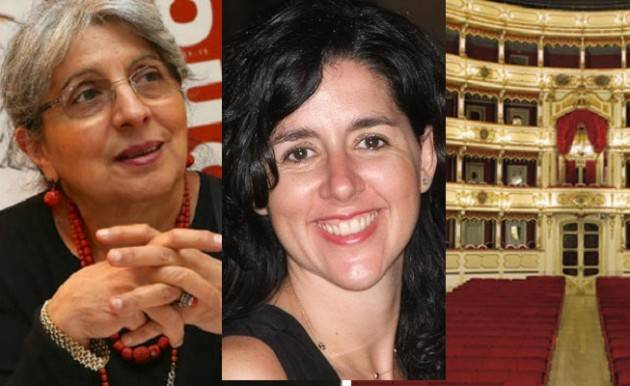 Polemiche al Ponchielli Sostituzione della sovraintendente CAUZZI, ANNA LAZZARINI si dissocia e vota contro