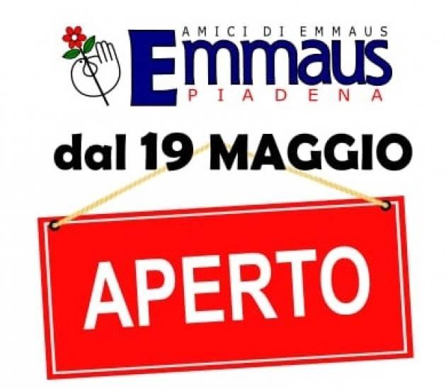 Cremona Emmaus riapre i propri mercatini dal 19 di maggio