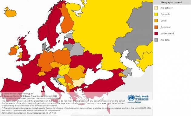 L'Europa sottovalutò il rischio pandemia