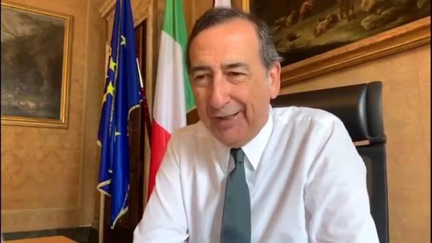 Sala: ''Fa arrabbiare che i Comuni abbiano ricevuto la stessa cifra che ad Alitalia è stata concessa a fondo perduto''