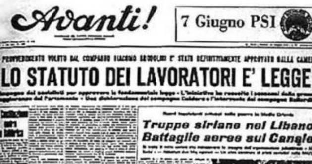 Accadde Oggi  20 maggio 1970 Statuto delle Lavoratrici e dei Lavoratori entra in vigore  (Video)
