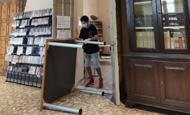 Crema Riaprono in sicurezza Biblioteca e Museo dal 26 maggio