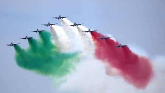 Lunedì le Frecce Tricolori sul Lodigiano