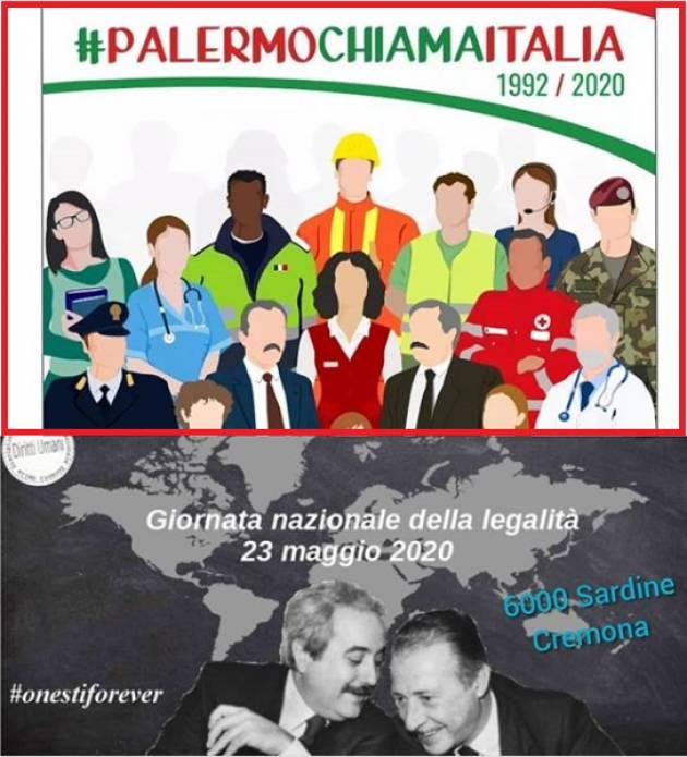#palermochiamaitalia 1992/2020  | 6000sardineCremona