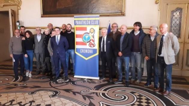 PANATHLON CLUB CREMONA VIDEOCONFERENZA CON L'ASSESSORE LUCA ZANACCHI