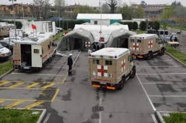 Dimessa l'ultima paziente dall'ospedale Covid realizzato dagli Alpini in Fiera