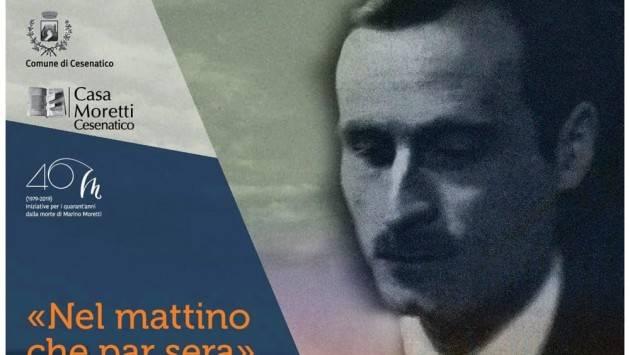 Il poeta crepuscolare Marino Moretti presentato da Vincenzo Montuori (Cremona)