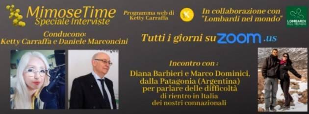 LnM Le interviste dei Lombardi nel Mondo La grave situazione degli italiani bloccati in Argentina