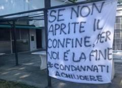 Appello dalla  Trattoria Secondo Baracchino di Castelvetro PC FATECI LAVORARE, APRITE I CONFINI