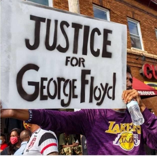 Justice for Geoge Floyd   6000sardinecremona