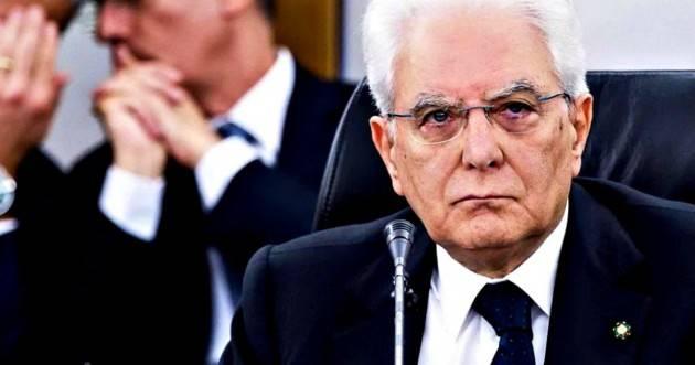 Mattarella su mondo giudiziario e politica: ''Grave sconcerto. Inammissibile commistione fra politici e magistrati''