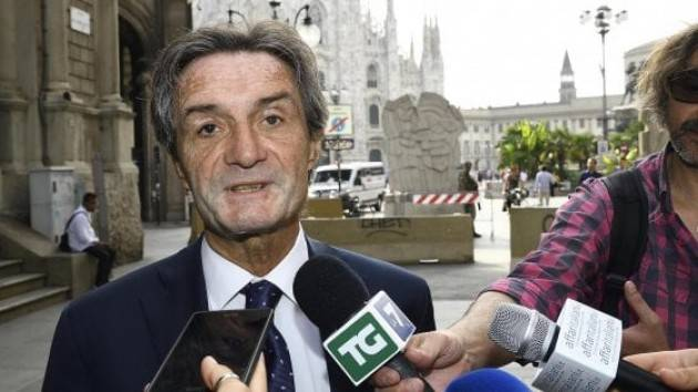 Fontana: troppi parlano senza aver capito ferite Lombardia
