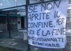 RIAPRIAMO IL CONFINE REGIONALE CONFCOMMERCIO A FIANCO DEI COMMERCIANTI DI CASTELVETRO PC