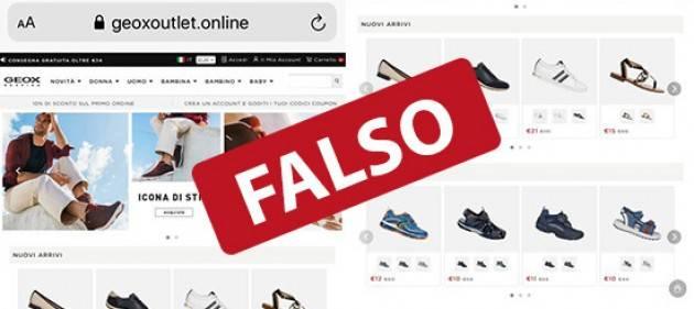 Truffe online: attenti al falso sito della Geox