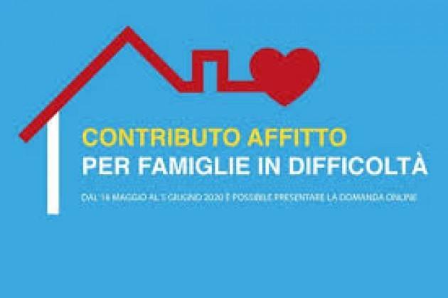 BERGAMO: SOSTEGNO AI NUCLEI FAMILIARI IN LOCAZIONE