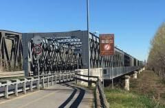 Ponte di Castelvetro PC-Cremona , dal 3 giugno al via sanzioni sistema di controllo peso  tir nei  2 sensi marcia