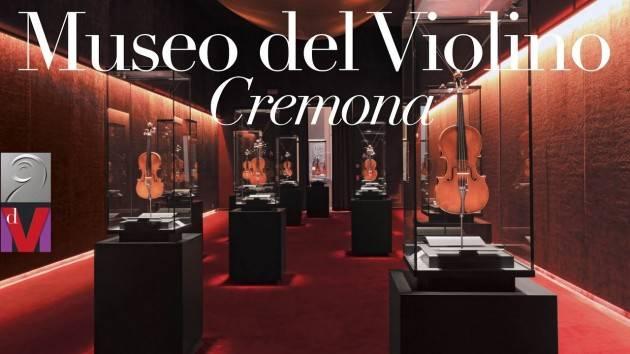 MDV Cremona IL MUSEO DEL VIOLINO RIAPRE  MARTEDI 2 GIUGNO (11-17)
