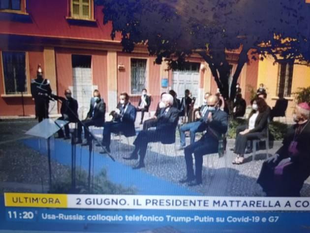 #DopoCovid Il 2 giugno 2020 di Sergio Mattarella: Messaggio Prefetti, Altare  Patria e Codogno